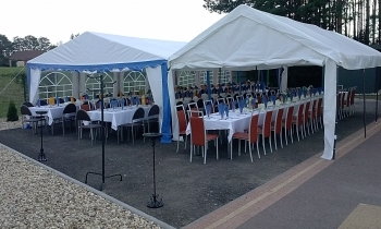 Impreza plenerowa dla Koła Łowieckiego
