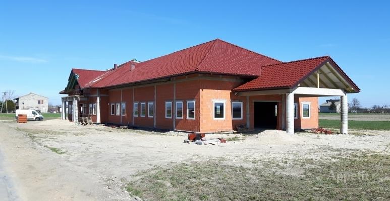 Budowa sali bankietowej